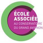 Logo Ecole Associée Conservatoire Avignon
