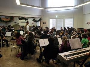 Répétition de l'Orchestre d'Harmonie