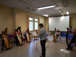 Projet de rencontre autour de la Harpe